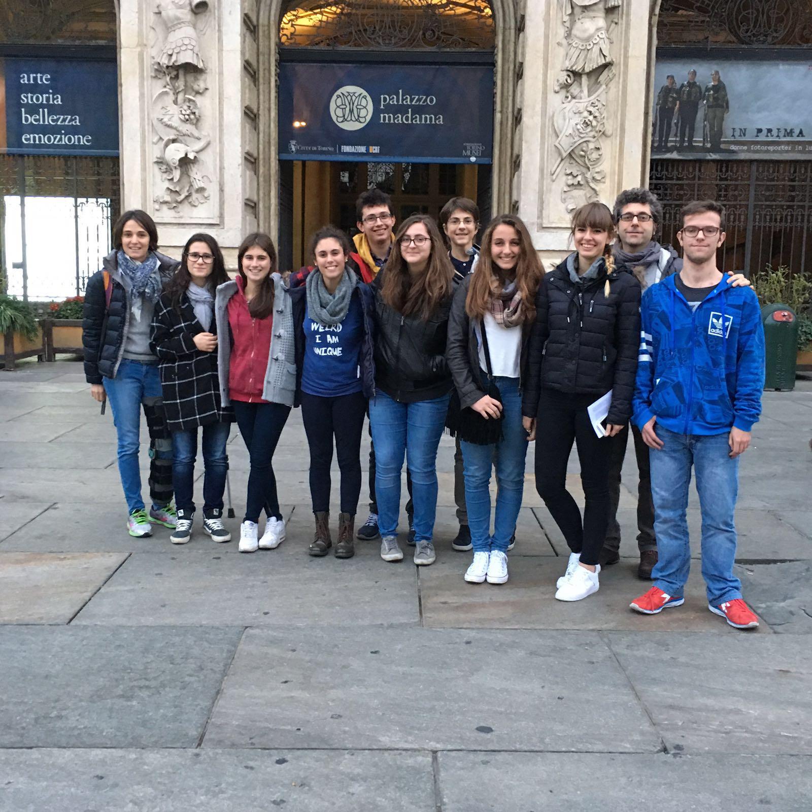 I nuovi redattori a Palazzo Madama